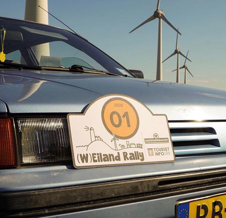 (W)eiland rally auto windmolens TIU